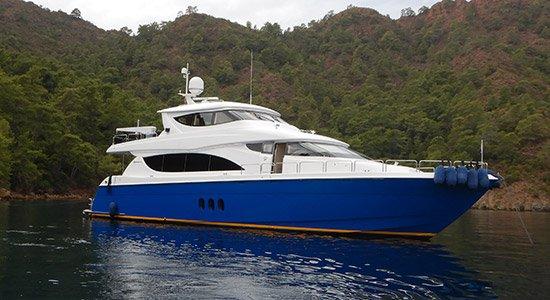Hilton Head Yacht Charter's Top Shelf Motor Yacht