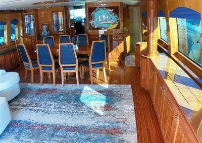 Hilton Head Yacht Charter's Top Shelf Salon