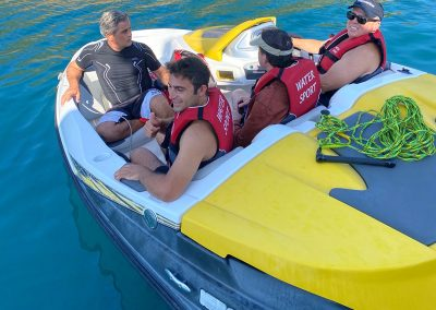 Hilton Head Yacht Charter's JetBoat