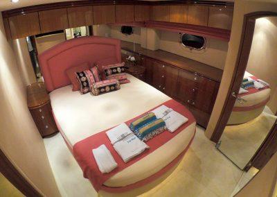 Hilton Head Yacht Charter's Top Shelf's Port Stateroom