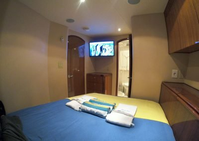 Hilton Head Yacht Charter's Top Shelf's Starboard Stateroom