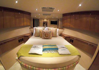 Hilton Head Yacht Charter's Top Shelf VIP Stateroom