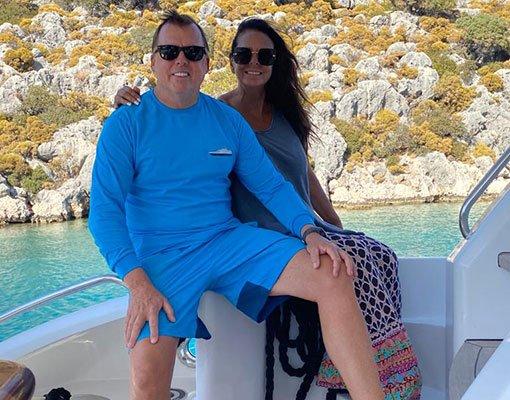 Jim & Julianne, Managers of Hilton Head Yacht Charter