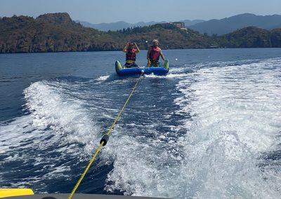 Hilton Head Yacht Charter Tubing Tow