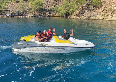Hilton Head Yacht Charter's Jet Boat Tender
