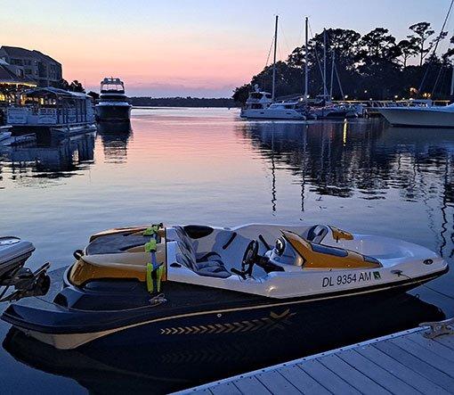 Hilton Head Yacht Charter Jetboat