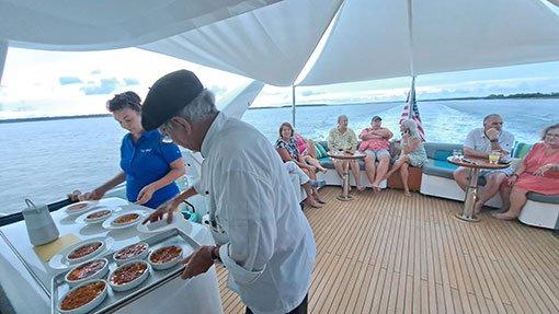 Hilton Head Yacht Charter's Chef Claude